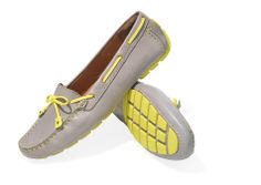 Help Mom channel Audrey Hepburn with this sleek update of the classic boat shoe with a driving sole. #mothersday #gifts