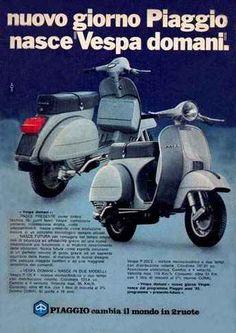 """8305 - MOTORCYCLE - VESPA PIAGGIO - Nuovo giorno Piaggio nasce """""""