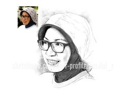 Artistic Sketch of your Portrait