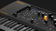 Studiologic Sledge Black Edition: Synthesizer mit 61 Tasten in schwarzem Kleid - http://www.delamar.de/instrumente/studiologic-sledge-black-edition-33929/?utm_source=Pinterest&utm_medium=post-id%2B33929&utm_campaign=autopost