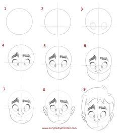 Portre Karikatür Nasıl Çizilir