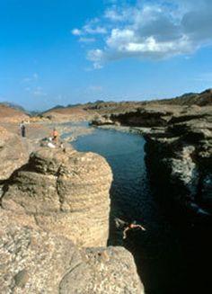 Hatta Rock Pools, Dubai. UAE. Fond childhood memories!