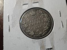 1910... Canada ..Sterling .925 Silver ...Twenty Five Cents ....Edward ...25c http://unbelievable-nice-item.newoffers.info/buy/01/?query=111776670975…