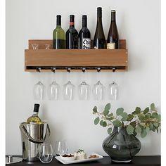 Wine-Stem Rack | Crate and Barrel