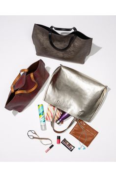 Reversible totes for fall.