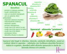 SPANACUL: 7 beneficii pentru o primavara plina de sanatate Diet Recipes, Healthy Recipes, Healthy Nutrition, Benefit, Healthy Lifestyle, Vitamins, Clean Eating, Health Fitness, Food And Drink