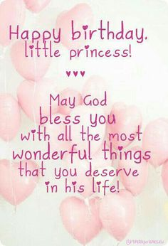 Happy First Birthday Quotes Moderna Happy Birthday Princess Happy 1st Birthday Princess, Happy Birthday Little Girl, Happy Birthday Wishes Sister, Birthday Greetings For Daughter, Happy Birthday Quotes For Friends, Happy Birthday Wishes Quotes, 25 Birthday, Daughter Birthday, Birthday Wish For Niece