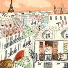 painting - photography - sculpture - installation - street art - collage - fan art - by me // Paris Illustration, Travel Illustration, Paris Clipart, Paris Images, Paris Art, Spanish Artists, Beautiful Artwork, Cute Art, Wall Art Prints