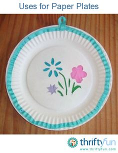 This guide contains uses for paper plates. Besides using in craft projects, these plates can be helpful for a variety of things.