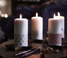 Mesa de Natal sem velas não é mesa de Natal.  #decoração #velas #Natal #IKEAPortugal