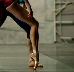 Oh how I miss my pointe days!