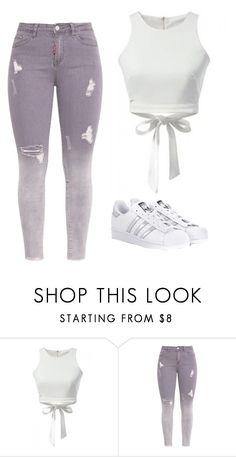"""Untitled #97"" by kacis-kacis on Polyvore featuring adidas Originals"