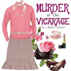 Modern Miss Marple, created by labellehelene on Polyvore