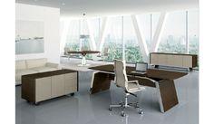 METAR mobili per ufficio direzionali con ante lucide