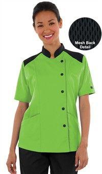 Chef coat green
