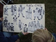 A Sampling of Renaissance Faire Costumes, how to dress appropriately for your choice in class and what fabrics/materials are most accurate to use... great and helpful website!