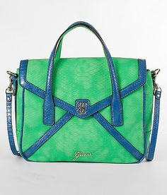 """Guess Confession Flap Purse- It was under """"crossbody"""" but I'm not exactly sure...It's still super cute though- Love the colors!"""