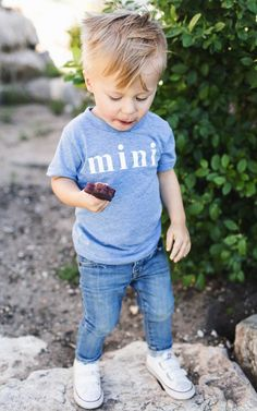 Mini Tee  - your mini-me will be so adorable rocking this super-soft tee!