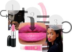 """""""miss pink"""" by sehrish-s ❤ liked on Polyvore"""