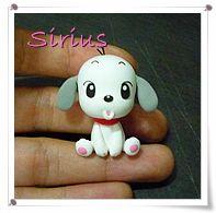 puppy 강아지 캐릭터 만들기 - 칼라클레이 by 시리우스 :: 네이버 블로그