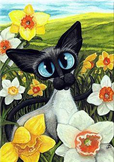 """""""Daffodils"""" par Amy Lyn Bihrl"""