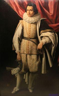 1598 Bartolomeo Cesi - Portrait of Clemente VII's page
