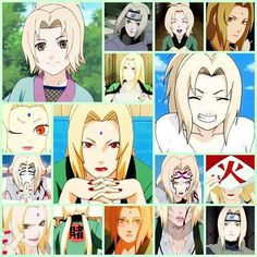 Lady Tsunade 5th Hokage