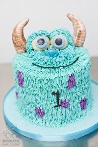 Monsters Birthday Cake. I may be 21 but I still want this!!!