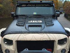 Owens J15001 Venom Hood Jeep Wrangler JK 2007-2016