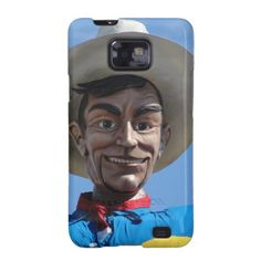 Big Tex the biggest cowboy in Texas Galaxy SII Cover by Texas Eagle Gallery