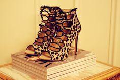 Zara leopard sandals