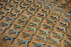 "alex maclean    B-52 ""Bone Yard""  Tucson, Arizona"