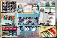 Soluciones para Organizar tu clase con materiales sencillos y divertidos