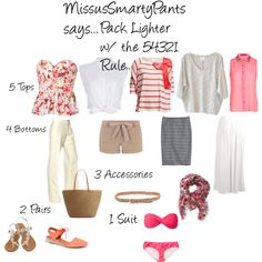 """""""MissusSmartyPants.com...Pack 54321!"""" by mspsmartypants on Polyvore"""