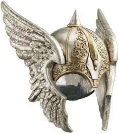 Valkyrie helmet This is like the helmets worn by the Solerian warriors in Blood Moon, a novel by Mike Bearden available at Amazon.com.  Part of the Young Knight triology