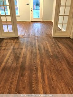Minwax special walnut and dark walnut 50/50 mix. Also added this mix at an 8:1 ratio to poly topcoat
