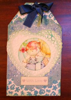 Paper heart tag Love Tag, Presents, Tags, Heart, Paper, Frame, Decor, Gifts, Picture Frame