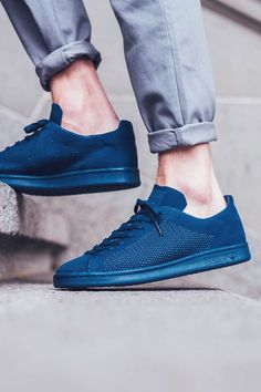 blue sneakers from adiddas