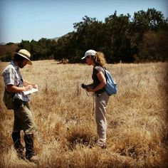 Back to Natives Interns doing biological monitoring.