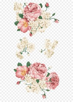 Wine Glasses/Decals Flower Wall decal - flower A Cabin Theme for Your Residence Adorning Wants Relat Vintage Flowers, Pink Flowers, Pink Rose Png, Nursery Decals Girl, Flower Png Images, Overlays, Flower Wall Decals, Image Icon, Wonderful Flowers