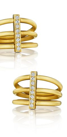 Fall #statement jewels | Moderne trio #ring
