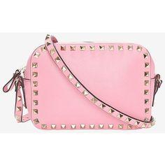 Valentino Rockstud Camera Bag: Pink