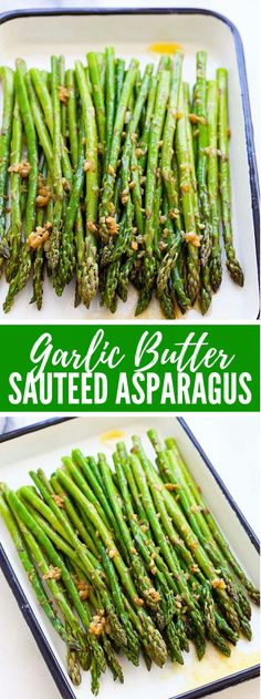 Welcome to my article, here is your family's favorite food and drink! Garlic Butter Sauteed Asparagus Recipe Garlic Butter Sauteed Asparagus – the easiest & healthiest asparagus recipe ever, takes only 10 mins to prep. Quick, fresh, and delicious. Asparagus Recipes Oven, Sauteed Asparagus Recipe, Saute Asparagus, Baked Asparagus, How To Cook Asparagus, Veggie Recipes, Dinner Recipes, Cooking Recipes, Healthy Recipes