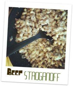 Poor Man's Beef Stroganoff