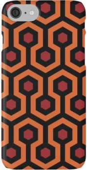 Carpet Pattern - Shining iPhone 7 Cases