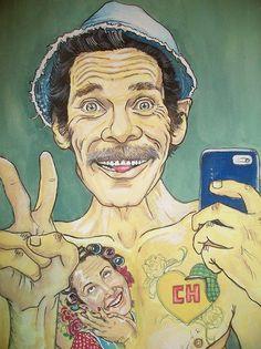 Patricia Rodrigues Cholo Art, Chicano Art, Graffiti Art, Art Sketches, Art Drawings, Dope Art, Mexican Art, Cartoon Art, Caricature