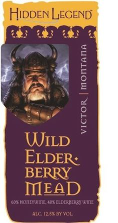 NV Hidden Legend Wild Elderberry Honey Mead 750 mL ** Want additional info? Click on the image.