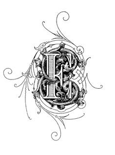 things to look at: Ornamental Letters