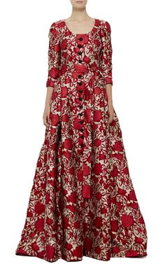 Carolina Herrera Rose Gown - Preorder now on Moda Operandi