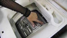 Убираем накипь  в стиральной машине